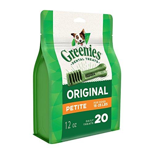 Greenies ORIGINAL Treat PAK Kau Hundefestlichkeit Petit 20 x340g -