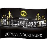"BVB Borussia Dortmund Zimmerfahne / Fahne ""Signal Iduna Park"""