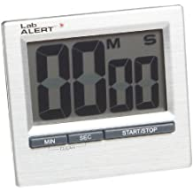 Heathrow Scientific HD24780 - Temporizador (dígitos grandes, pantalla LCD dual, 82 x 140 x 13 mm)