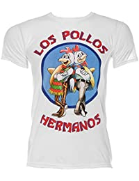 Tee-shirt Breaking Bad Los Pollos Hermanos