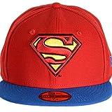 DC COMICS - NEW ERA BASECAP - SUPERMAN - REVERSE HERO 2 - OFFICIAL Größentabelle 6 7/8 - 55cm (S)