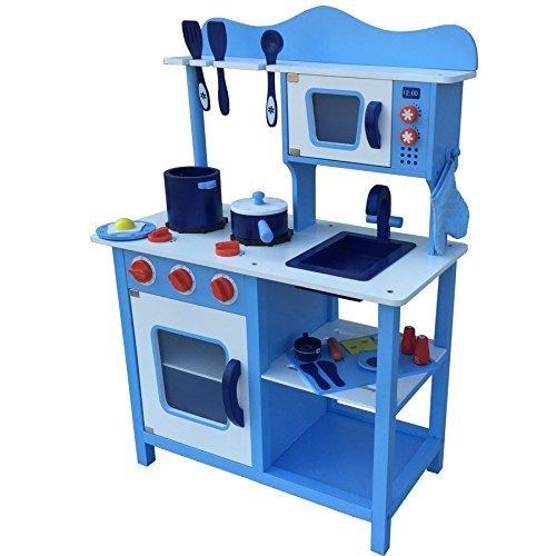 Spielküche für Jungs Tiktaktoo Spielküche Blau