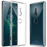 GEEMEE Coque Sony Xperia XZ3, Transparente Gel Silicone TPU Housse Etui de Protection, [ Souple Cristal ] [Anti-Rayures ] [ Anti Choc ] [ Ultra Mince ] [ Ultra Léger ] pour Sony Xperia XZ3