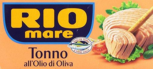 Preisvergleich Produktbild 2 x Rio mare Thunfisch in Olivenöl - 160 g