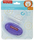 #10: Fisher-Price Silicone Baby Finger-Brush With Case (Purple)