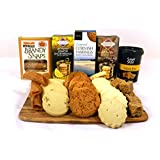 Luxury Biscuit Selection Hamper Gift Box by Hay Hampers