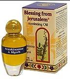 Unción aceite con especias bíblica de Jerusalén 0.34oz (10ml) (incienso...