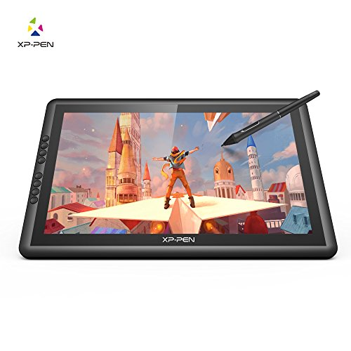XP-PEN Artist16 pro 15.6 inch IPS Drawing Tablet Graphics Monitor 1920×1080 with 8192 pressure Drawing stylus,Shortcut Keys and Adjustable Stand