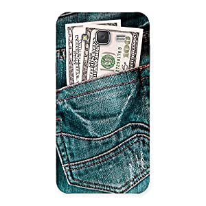 Enticing Pocket Full Jeans Multicolor Back Case Cover for Galaxy J7