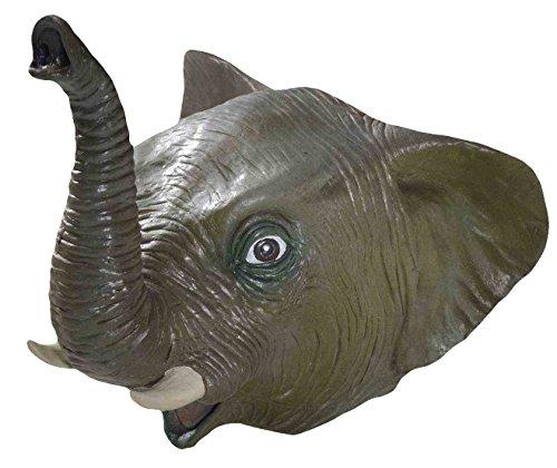 Novedades del Foro, Inc máscara de látex Deluxe Elefante-Maletín estándar