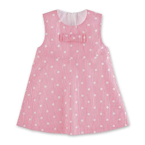 �dchen Robe Bébé Kleid, Pink (Magenta 745), 9-12 Monate (Herstellergröße: 80) ()