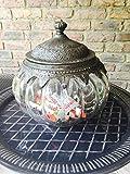 Exner Bonboniere aus Glas mit Deckel
