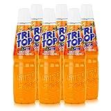 TRi TOP Getränkesirup Orange-Mandarine 6 x 600ml | Sirup für Wassersprudler | 1 Flasche ergibt ca. 5 Liter Erfrischungsgeträn