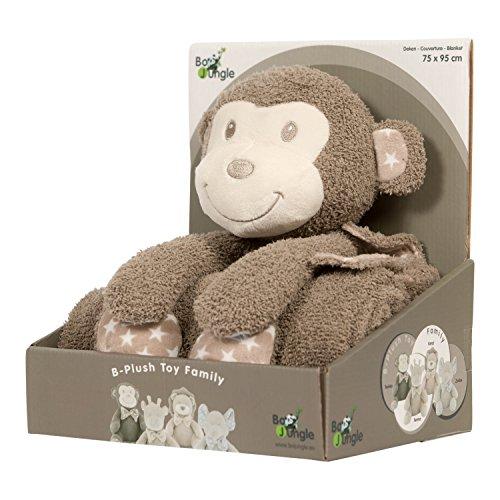BO Jungle b-plush giocattolo con coperta (Tambo la scimmia)
