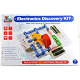Flying Start Electronics Discovery Kit, Multi Color (198 Experiments) STEM Educational Toy