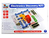 Give your child an exciting, hands-on introduction to electronics with Flying Start electronics discovery kit. Let your little one have fun learning to build circuits with these colorful electronics discovery pieces that easily snap together. . The e...