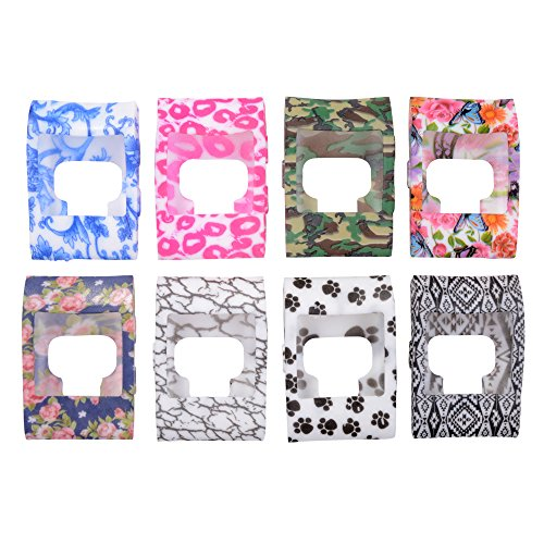 xcsource-8pcs-colorful-band-cover-slim-designer-sleeve-protector-for-fitbit-surge-th437