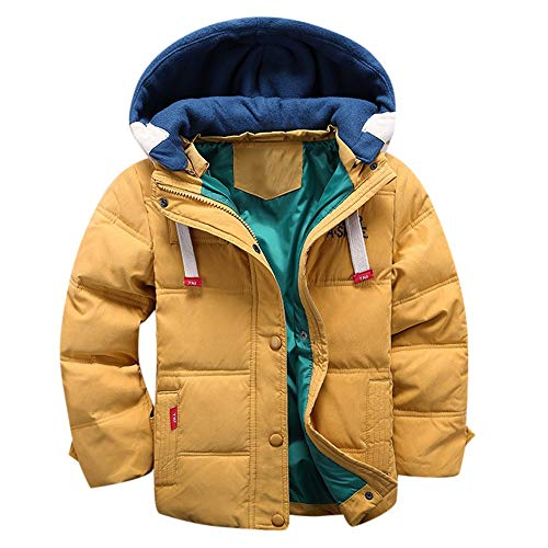 0c5a22b29 Kobay Baby Unisex Coat Toddler Kids Baby Girl Boys Winter Hooded Cloak  Jacket Thick Warm Outerwear