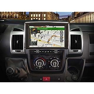 Alpine X902D-DU Touchscreen Navigator, festinstalliert, 9 Zoll LCD Scwarz -Navi (Ost- und Westeuropa) 22.9cm (9 Zoll), 800x 480Pixel, LCD, AVI, H.264, MKV, MP4