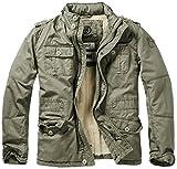 Brandit Herren Jacke Britannia Winter, Grün (Oliv 1), X-Large