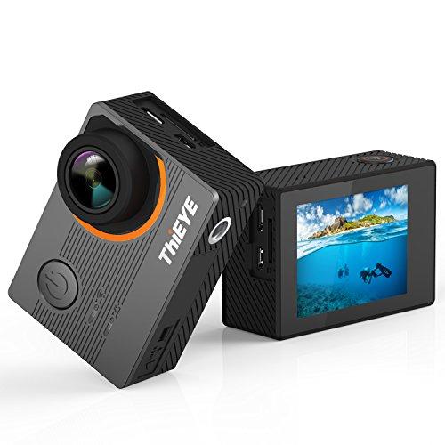 """ThiEYE E7 Action Kamera,Ture 4k/30fps,14MP,2.0"""" IPS Ultra-HD Bildschirm,WiFi 60M Wasserdichte Sport Cam mit EIS, Aqua Mode & Verzerrungskorrektur"""