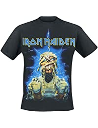 Iron Maiden Powerslave Mummy T-shirt noir