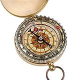 aquiver Kompass Portable Taschenuhr Klapp Kompass Messing Metall Camping Wandern Kompass Outdoor Navigation Werkzeug