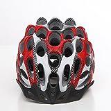 Casque de vélo de route Honeycomb haute résistance super-respirant poreux ultra-léger casques de protection en plein air , red
