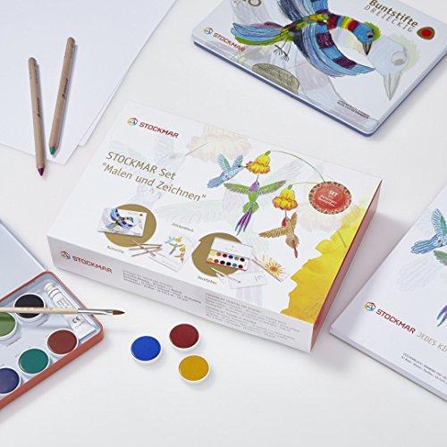Stockmar 77001 Set 'Malen und Zeichnen' - DREIECKIG