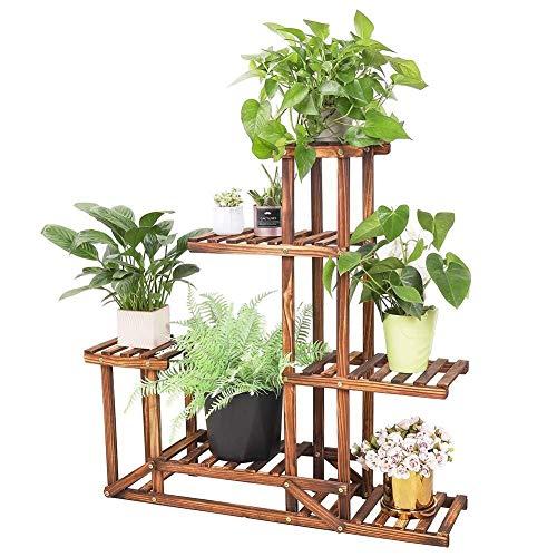 Vintage display Jardin Planteur Fleur Pots rustiques Plant Stand Patio Pot #1