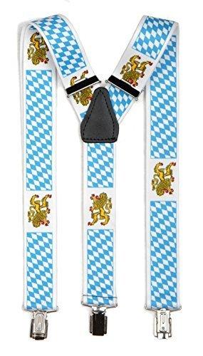 Hosenträger Y Form: Bayern mit Wappen
