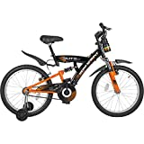 Hero Sprint 20T Elite Single Speed Junior Cycle - Black & Orange (15' Frame)