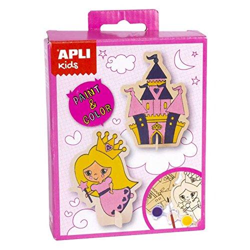 Apli apli14711principessa vernice e colore mini kit (pezzi)