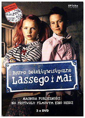 Preisvergleich Produktbild Biuro Detektywistyczne Lassego i Mai [3DVD] (Keine deutsche Version)