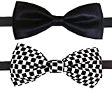 #9: GlobalRang Men's Bow Tie (Pack Of 2)