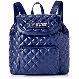 aceae8bbc5 Love Moschino Quilted Nappa Pu Borsa a zainetto Donna, 15x10x15 cm (W x H  ...