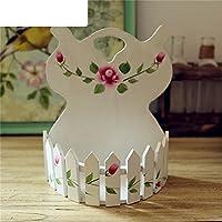 Parete dipinta a mano vaso semplice/ bel fiore/ fiori artificiali flower (Intagliato A Mano Pavimenti In Legno)