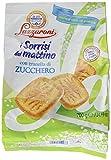 Lazzaroni Biscotti con Granella di Zucchero Sacco - i Sorrisi del Mattino - Pacco da 8 x 700 gr