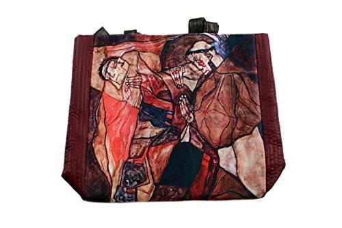 Das Museum Outlet–Qual (der Tod Kampf) durch Egon Schiele handgefertigte Tasche