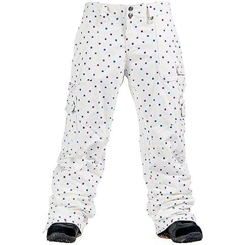 WMS Lucky Pant: Multi Polka Squares, Donna, multi polka squares, L