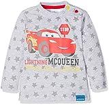 Disney 160835, Camiseta para Bebés, Gris (Gray Melange,Racing Red 19-1763tcx), 18-24 Meses (Tallas...