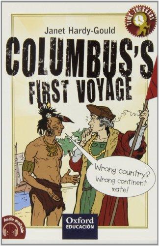 Columbus's first voyage (Trekkers) - 9788467377880