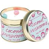 Bomb cosmetics handgegossene bougie cOCONUT mUSHROOMS