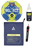 Select Handball-Paket Maxi Grip 2.0 Ballgr. 2 + Ballbeutel Regrip 200 ml + ConSport Ballpumpe