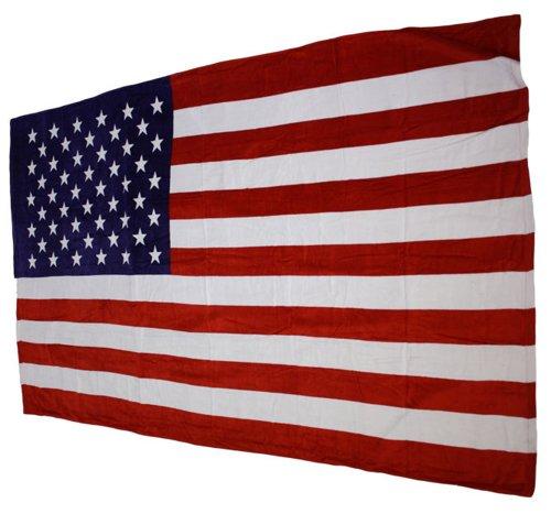 Badetuch Strandtuch Saunatuch USA Flagge Stars and Stripes 100% Baumwolle 175 x 100 cm