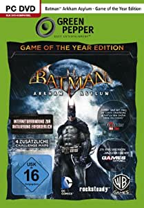 Batman: Arkham Asylum - Game of the Year Edition [Green Pepper] - [PC]