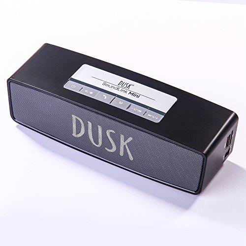 Drahtloser Bluetooth-Lautsprecher von Dusk® Radio/TF Karte/AUX/USB/gratis Calling (One Jahre Herstellung Garantie)