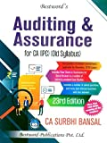 Auditing and Assurance for Old Syllabus CA IPCC By Surbhi Bansal Latest Edition Applicable for November 2019 Exam And Onwards