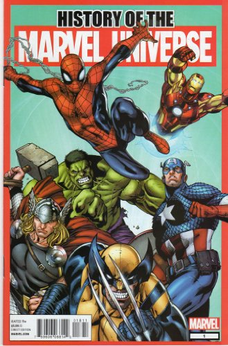 Marvel - History of the Marvel Universe - 2012 US-Comic -
