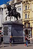 666042 Ban Jelacic Monument Zagreb Croatia A4 Photo Poster